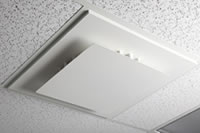 Improved air flow in office cubicles